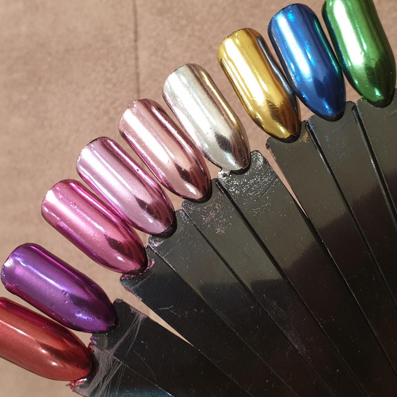 """Втирка зеркальная, , нежно-розовая: продажа, цена в Краматорске. материалы  для дизайна ногтей от """"Beauty Club - материалы для наращивания и дизайна ..."""