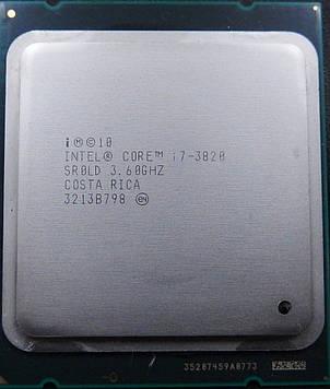 Процессор Intel Core i7-3820 3.60GHz/10M/5GT/s (SR0LD) s2011, tray