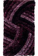 Ковер с высоким ворсом VALE 1155L прямой фиолетовый
