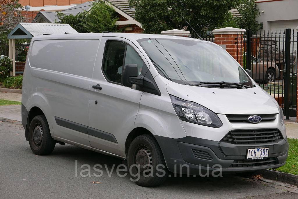 Ветровики, дефлекторы окон Ford Transit Custom 2012-> (ANV)