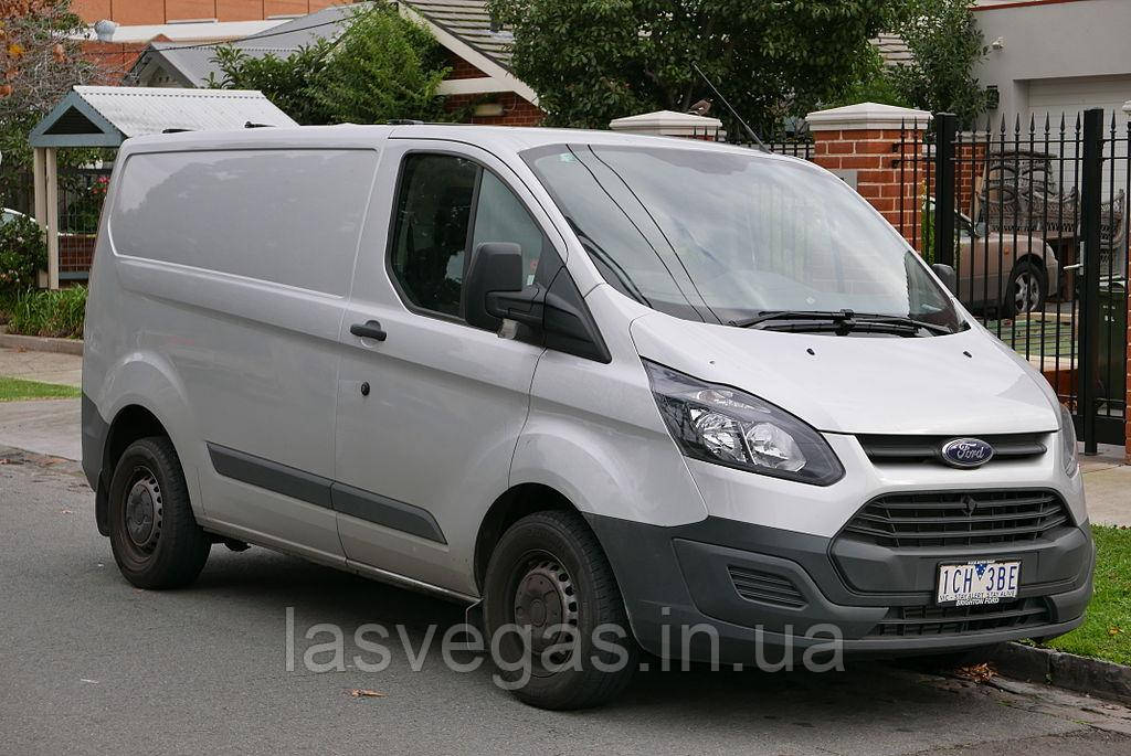 Вітровики, дефлектори вікон Ford Transit Custom 2012-> (ANV)