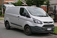 Ветровики, дефлекторы окон Ford Transit Custom 2012-> (ANV), фото 1