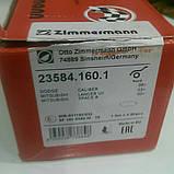 Тормозные колодки передние Otto Zimmermann - 235.8416.01 (зам.MN102618/4605A261) Lancer, ASX, фото 2