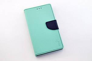 """Чехол-книжка 4you Fancy 5,3""""-5,7"""" aquamarine/dark blue универсальная - Акционная Цена!, фото 2"""