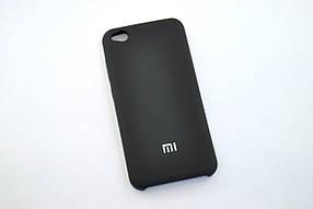 Чохол для телефону Xiaomi Redmi GO Silicone Cover Soft touch (Logo) black