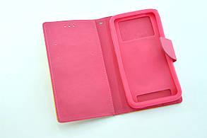 """Чехол-книжка 4you Fancy 5,3""""-5,7"""" pink/red универсальная, фото 2"""