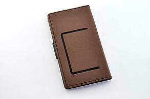 """Чехол-книжка 4you Fancy 5,3""""-5,7"""" brown/black универсальная, фото 2"""