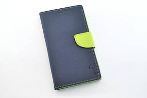 """Чехол-книжка 4you Fancy 4,5""""-4,8"""" dark blue/green универсальная ТОП Продаж!, фото 2"""