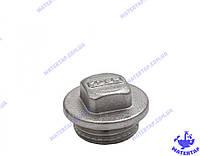 Заглушка латунная никелированная 1/2 наружная KOER