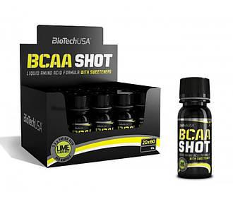 BioTech USA BCAA Shot Zero Carb 20 x 60 ml