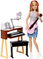 Кукла Барби Музыкантка, Barbie Musician Doll & Playset, фото 1