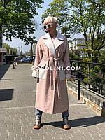 Пальто женское в длине 120см, размер 46/48/50