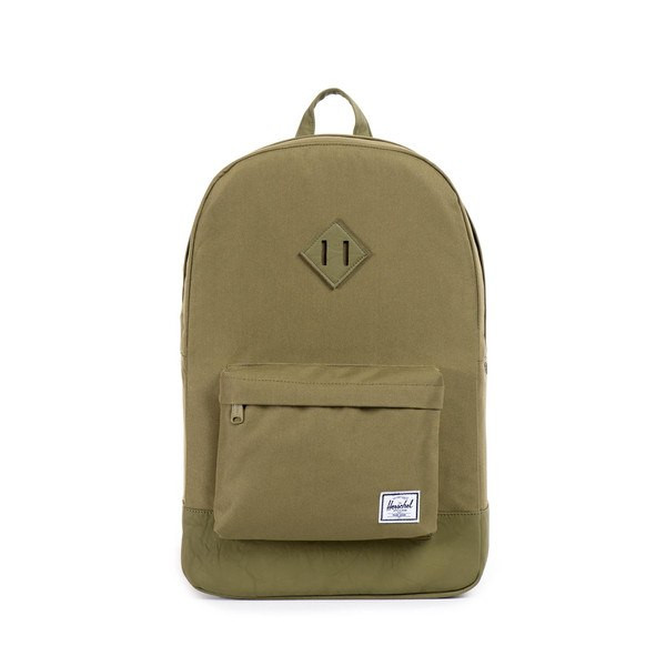 Рюкзак Herschel Supply - Heritage Army/Green/Leather Classic 21L
