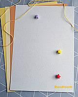 Бумага для пастели белая, Tiziano A4 (21*29,7см), №32 brina, 160г/м2, среднее зерно, Fabriano
