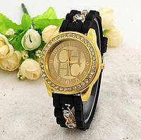 Женские силиконовые часы CH