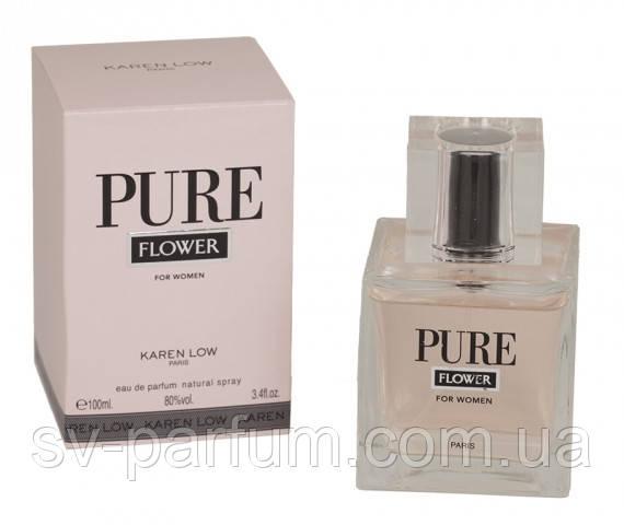 Парфюмированная вода женская Pure Flower 100ml