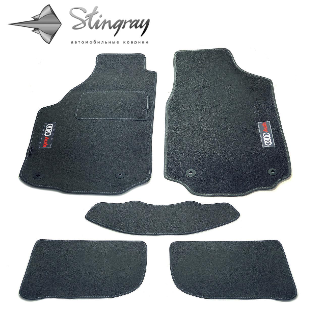 Fiat Linea SD 2009- Комплект из 5-х ковриков ворсовый CIAK GREY Серый в салон