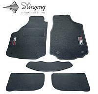 Fiat Linea SD 2009- Комплект из 5-х ковриков ворсовый CIAK GREY Серый в салон, фото 1