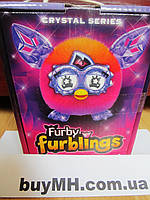 Furby Furblings Creature Plush, Orange/Pink Фёрби ферблинг кристалл Оранжевый/Розовый