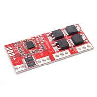 BMS контроллер 4S 15А плата заряда защиты 4x Li-ion 18650 14.4В 16.8В