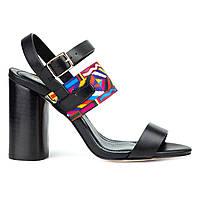 Босоножки Woman's heel черные (О-837), фото 1