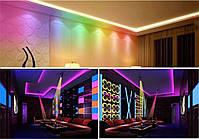 Світлодіодна лампа E27 LED RGB 3W 220V +пульт, фото 6