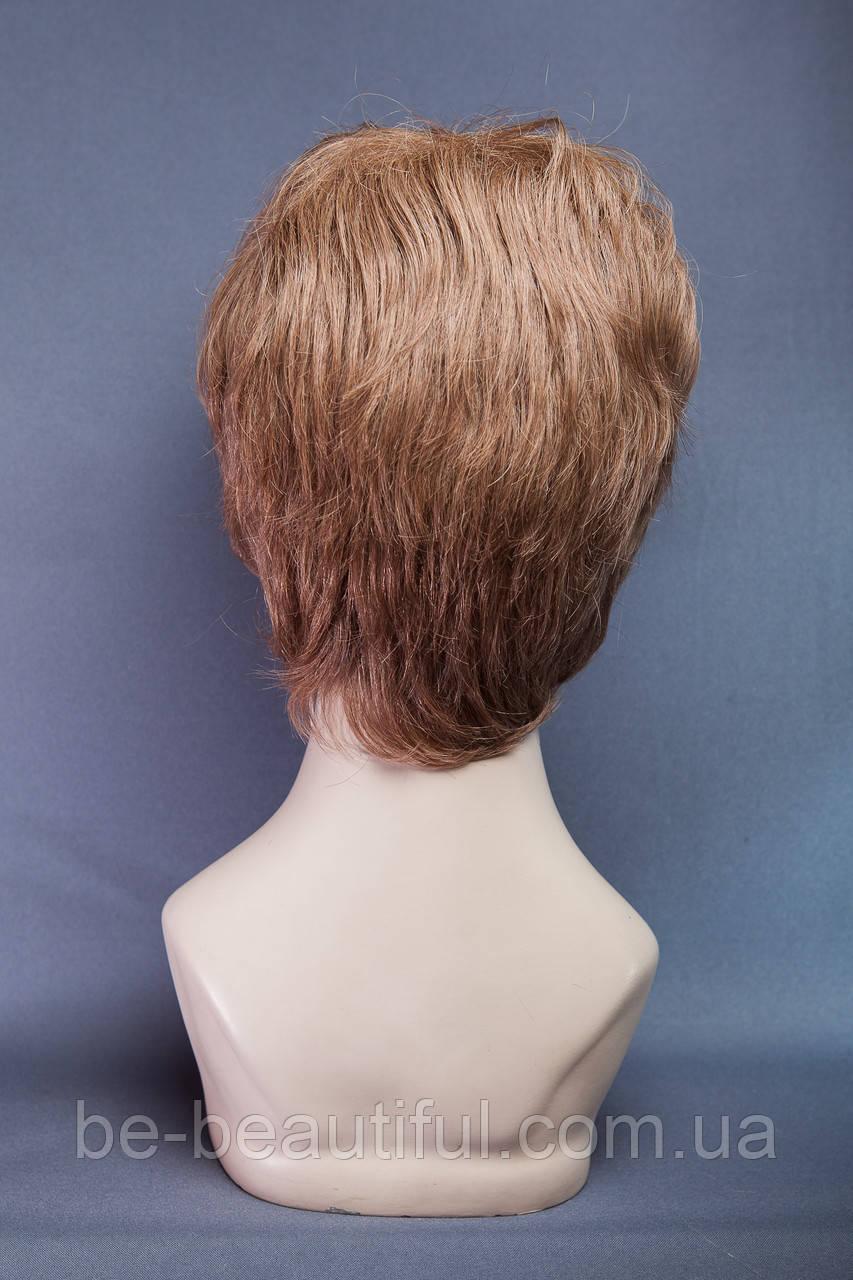 Натуральный парик №8, цвет темно-русый