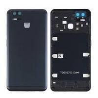 Задняя крышка для Asus ZenFone 3 Zoom (ZE553KL), черная, оригинал