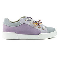 Кеды Woman's heel серо-фиолетовые (О-858), фото 1
