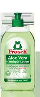 Средство бальзам-гель для посуды алоэ вера FROSCH Aloe vera Hands-Spul-Balsam