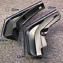 Брызговики MGC AUDI A6 C6 (Ауди) 2004-2011 г.в. комплект 4 шт 4F0075101, 4F0075111, фото 3