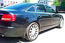 Брызговики MGC AUDI A6 C6 (Ауди) 2004-2011 г.в. комплект 4 шт 4F0075101, 4F0075111, фото 5