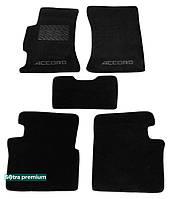 Двухслойные коврики Sotra Premium 10mm Black для Honda Accord EU (mkVI) 1999-2002 (ST 00863-CH-Black)