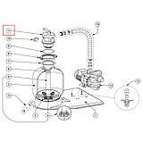 """Верхний шестипозиционный клапан Pentair Tagelus 2"""", фото 4"""