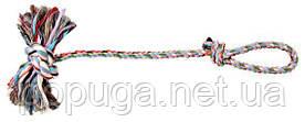 Игрушка для собак веревка с узлом (с петлёй) Trixie, 70 см
