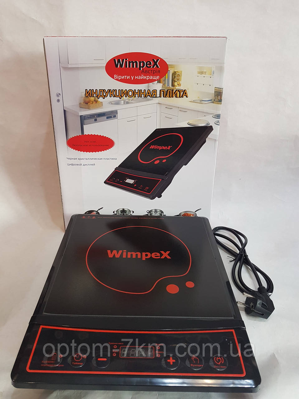 Индукционная плита wimpex wx 1323 am