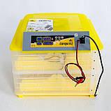 Инкубатор автоматический Теплуша Europe 112. 12В, ТЭНовый, фото 2