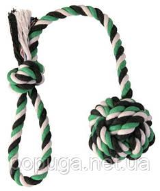 """Игрушка для собак Веревка с узлом """"DENTAfun"""" Trixie, 5,5 см/30 см"""