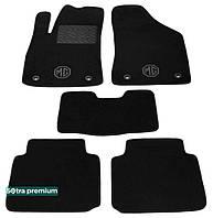 Двухслойные коврики Sotra Premium 10mm Black для MG / Roewe 350 2011→ (ST 07433-CH-Black)
