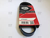 Ремень генератора Gates 6PK883 на Chevrolet Aveo 1.4,1.5 , фото 1