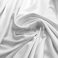 Трикотаж микродайвинг белый, фото 1