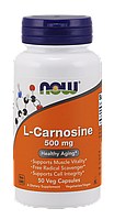 Now L-Carnosine 500 mg 50 veg caps
