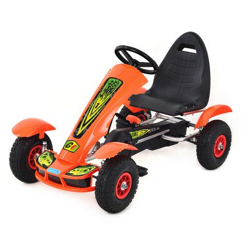 Детский Карт M 1450-7 Оранжевый Гарантия качества Быстрая доставка