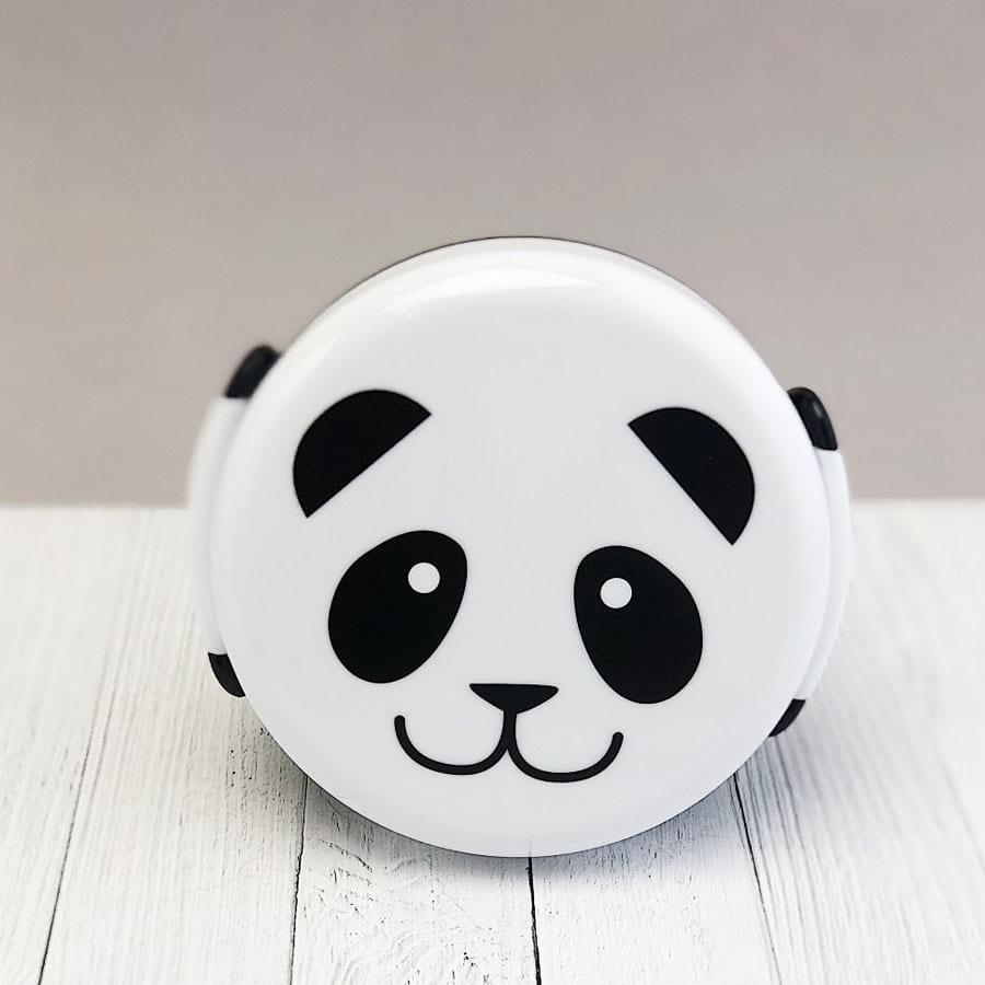 Ланч бокс Gold Sight Panda - черный (LB-1820), фото 1