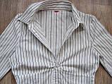 Женская блузка рубашка Бренд s.Oliver Размер 44 Б/У , фото 6