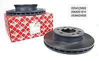 Диск тормозной (передний) VW Crafter /MB Sprinter 06- (299.6x28) FEBI BILSTEIN (Германия)