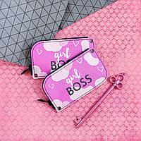 Карманная ключница Girl Boss