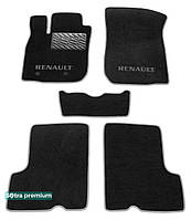 Двухслойные коврики Sotra Premium 10mm Black для Renault Duster (mkI) 2009-2013 (ST 07423-CH-Black)