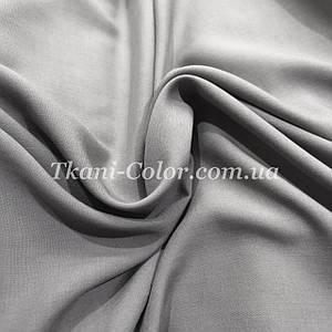Ткань штапель серый