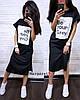 Стильное платье с разрезами по бокам, размер единый 42-48, фото 4
